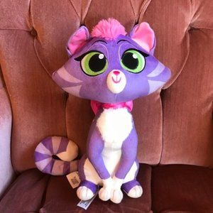 Disney Toy Hissy Plush Cat